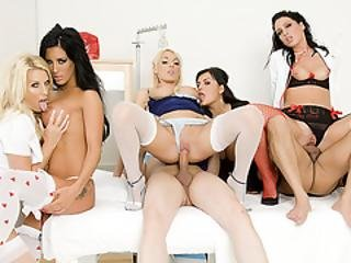 Hot Milf Nurses Fucked By Hung Patient