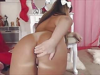 Latina Pawg Ride Hitachi Wang With Butt Plug In Arsehole