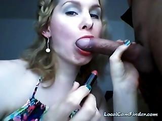 amatoriale, pompini, fetish, casa, fatto in casa, rossetto, milf, Adolescente, webcam
