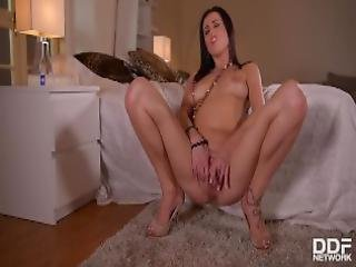 Russian Hot Babe Nikky Perry Needs At Least One Orgasm A Day