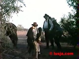 Rape in jungleclassic western