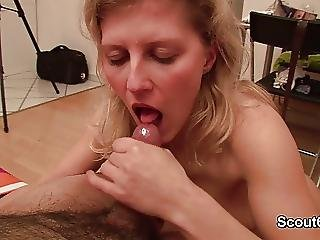 Dick, Exwife, Facial, German, Milf, Wife, Young