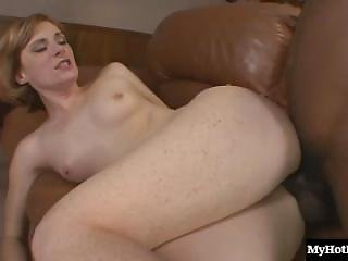 Allison Wyte Is A Sexy Redhead Milf With Tiny Tits. She Loves Black