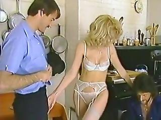 Lili Marlene, Mike Horner, Nick Niter In Sexy Classic Porn Blonde Fucked By Two Guys