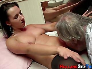 Real Whore Gets Oral Sex