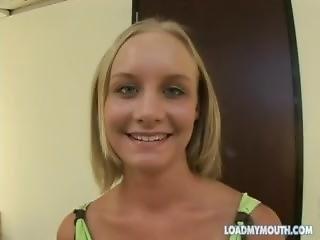 18yo Leah Wilde: Pov Suck + Swallow - Brandoniron.com