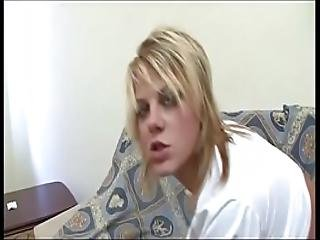 Young Blonde Ready To Be Hard Banged