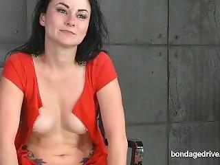 Bdsm Vj Tied Up Blindfold Deep Throat Fuck