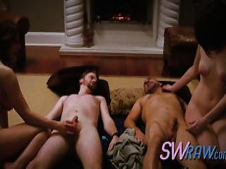 Amazing Chicks Pounded By Friends