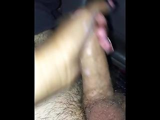 Spring Break Cumshot Handjob In Car