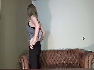 American Marine And A Mother She Hates Porn But Needs Cash So She Does Casting Couch Glassdeskproductions