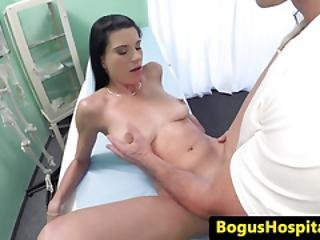 Busty Euro Doggystyle Banged By Her Dr