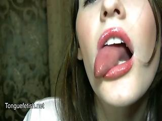 Her Long Wet Tongue And Throat