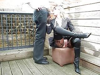 Amateur, Blowjob, Boots, British, Cumshot, Milf