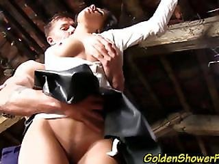 Strange Whore Pissed On
