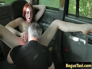 britisk, finger, slik, offentlig, fisse, realitiet, rødhåret, taxi