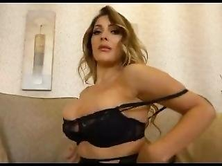 cul, gros cul, gros téton, blonde, anglaise, lingerie, masturbation, milf, embêter