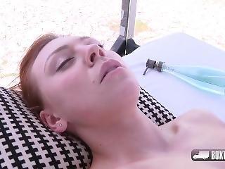 crème, serrée, éjaculation, massage, jet de mouille, camion