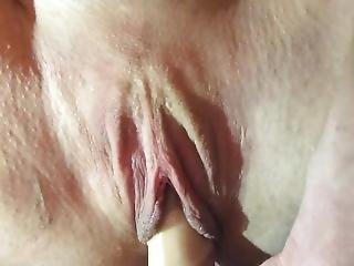 Orgasm Contractions On My Dildo At 1:44