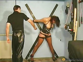 Girl Dodges Lashes
