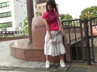 Japanese public girls masturbation
