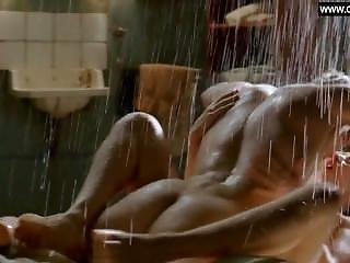 Kim Van Kooten - Dutch Celebrity Explicit Sex Scene In The Rain - Phileine