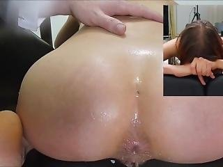 37times Insertion Air In Her Asshole N 21times Pushing Out Air Farts!