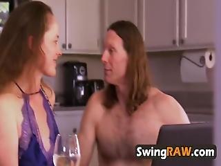 Big Butt Gal Got Nailed In A Swinger Fashion