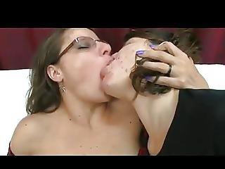 Brazilian Milf With 2 Ladies