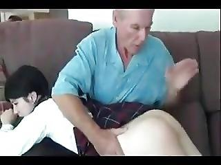 Stp4 Daughter Takes Daddys Punishment