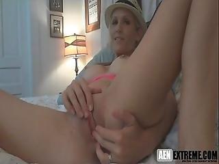 Cute Wife Fingering Herself On Webcam And Wait Cum