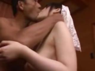 Top busty milf Rie Tachikawa intense sex on cam 2