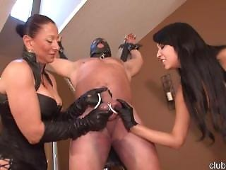 Clubdom Esmi Lee Lesson In Femdom With Aunt Venus Cbt