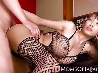 Japanese Milf Fucked Before Cum On Tits