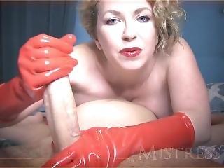[mistresst] Red Rubber Gloves