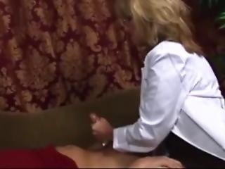 She Keep Stroking Cock After Cum,making Body Shacking-short Ver
