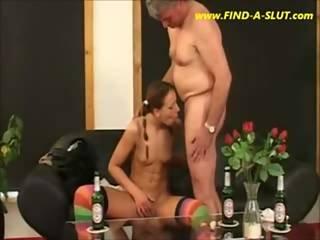 Grandpa Fucks A Young Teenie - Www.find-a-slut.com