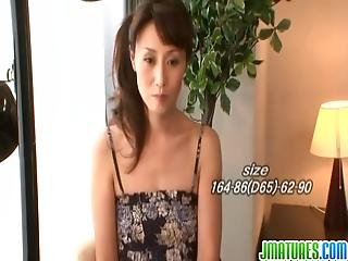 Sexy asian milf likes it harsh