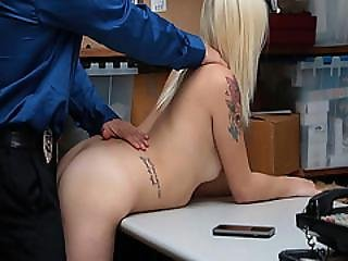 Lp Officer Screw Madison Harts Pussy Doggystyle