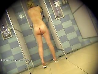 Hidden Camera Public Shower 25-34