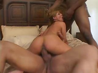 Two Cocks One Tight Latin Pussy