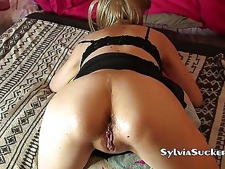 Blonde Teen Gf First Assfuck And Anal Creampie