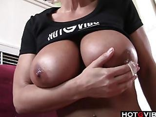 Aged Woman Fingering Herself