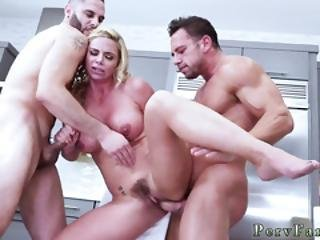 French Family Holiday Army Boy Meets Busty Stepmom