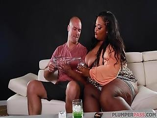 Fatty Nirvana Lust Sucking And Fucking A White Cock
