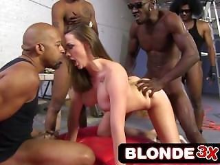 Hot Chanel Preston Rough Interracial Anal Gangbang - Blonde3x.com