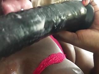 Sucking My Big Black Toy