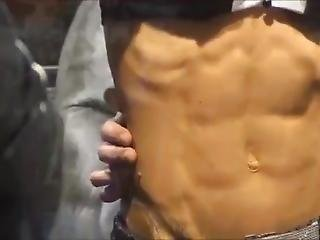 Girls At Fitness Expo Have Great Abs