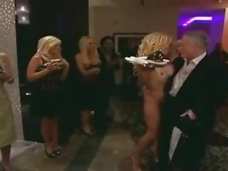 Pamela Anderson Naked With Hugh Hefner (rip Hugh)