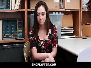 Shoplyfter - Hot Slut Tries To Escape Got Fucked Instead